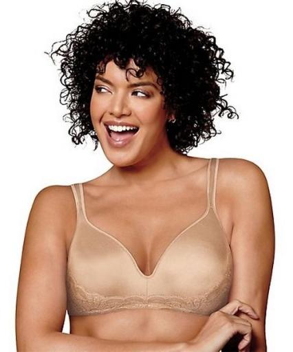 playtex love my curves side smoothing wirefree bra women Playtex