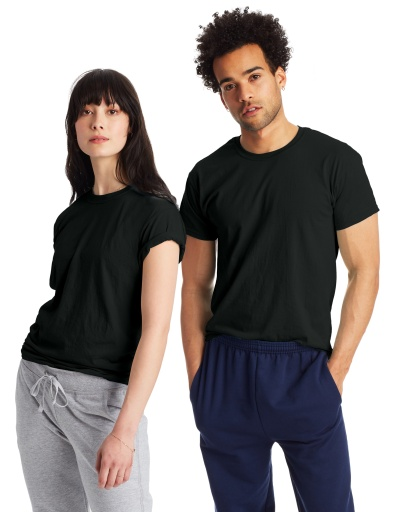 hanes x-temp® crewneck short-sleeve t-shirt 2-pack men hanes