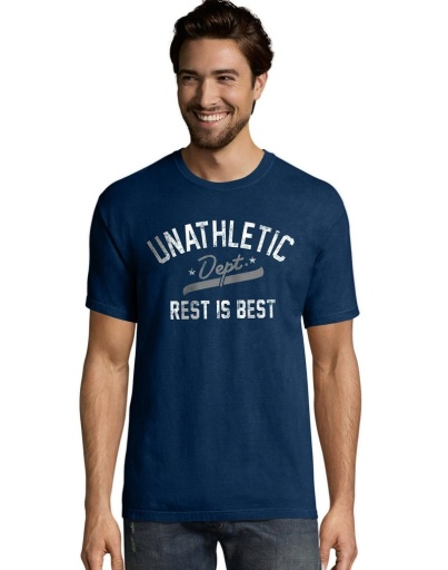 adult fitted tee (4980) men hanes