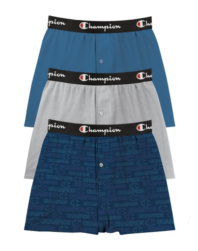 everyday comfort knit boxers, 3-pairs men Champion