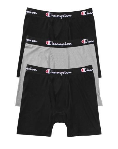 everyday comfort boxer briefs, 3-pack men Champion